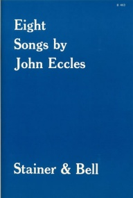Eccles: Eight Songs published by Stainer and Bell