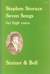 Storace: Seven Songs for High Voice published by Stainer & Bell