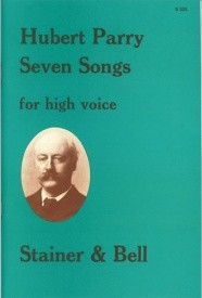 Parry: Seven Songs for High Voice published by Stainer and Bell
