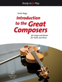 Introduction to the Great Composers for Violin and Piano published by Barenreiter