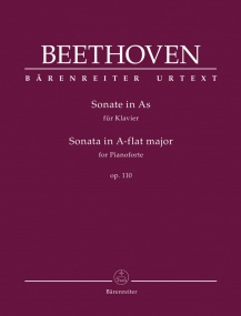 Beethoven: Sonata in Ab Major Opus 100 for Piano published by Barenreiter