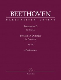 Beethoven: Sonata in D Opus 28 (Pastorale) for Piano published by Barenreiter