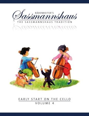 Sassmannshaus Cello Method: Early Start on the Cello - Book 4 published by Barenreiter
