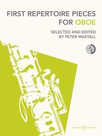 First Repertoire Pieces for Oboe Book & CD published by Boosey and Hawkes