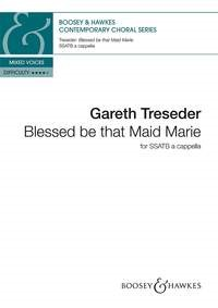 Blessed be that Maid Marie SSATB by Treseder published by Boosey & Hawkes