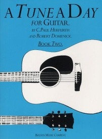 A Tune a Day Book 2 for Classical Guitar published by Boston Music Co