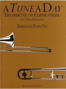 A Tune a Day for Trombone or Euphonium (Treble Clef) Book 1 published by Boston