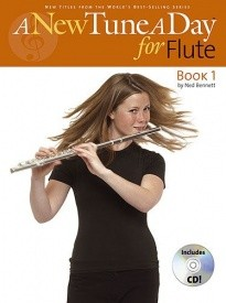 A New Tune a Day Book 1 with CD for Flute published by Boston Music Co