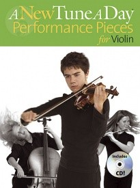 A New Tune a Day : Performance Pieces Book & CD for Violin published by Boston