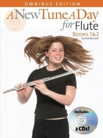 A New Tune a Day Books 1 And 2 with CD for Flute published by Boston