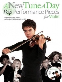 A New Tune a Day : Pop Performance Pieces Book & CD for Violin published by Boston