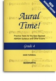 Aural Time Grade 4 (ABRSM Syllabus From 2011) by Turnbull published by Bosworth
