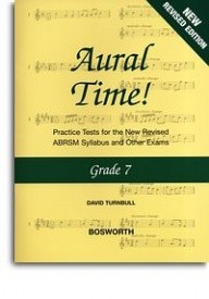 Turnbull: Aural Time Grade 7 (ABRSM Syllabus From 2011) published by Bosworth