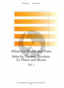 Album for Piccolo & Piano Volume 1 published by Broekmans