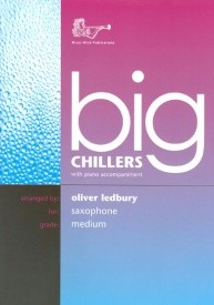 Big Chillers for Alto Saxophone published by Brasswind