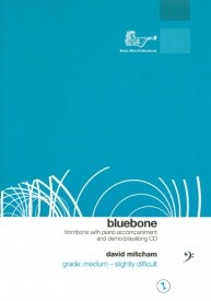 Bluebone (Bass Clef) Book & CD for Trombone published by Brasswind