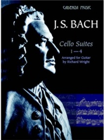 Bach: Cello Suites 1 - 4 Arranged for Guitar published by Cadenza