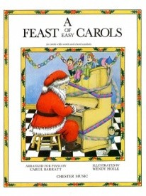 A Feast of Easy Carols for Piano published by Chester