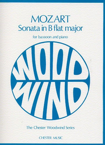 Mozart: Sonata in Bb K292 for Bassoon published by Chester