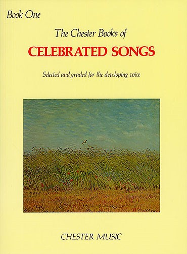 Celebrated Songs Book 1 published by Chester