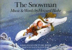 The Snowman Easy Piano Picture Book by Blake published by Chester