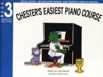 Chesters Easiest Piano Course Book 3 by Barratt - Special Edition