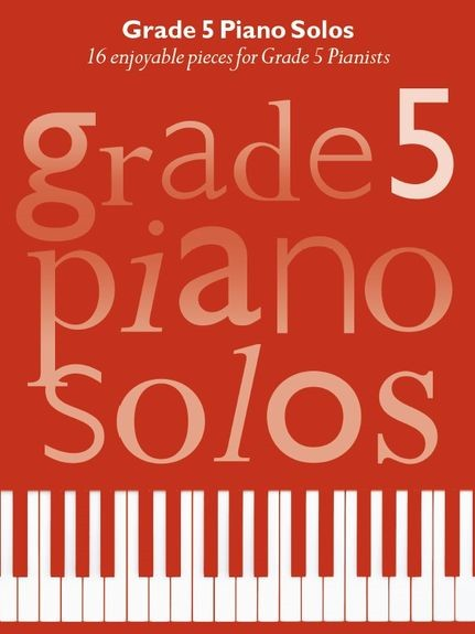 Grade 5 Piano Solos published by Chester