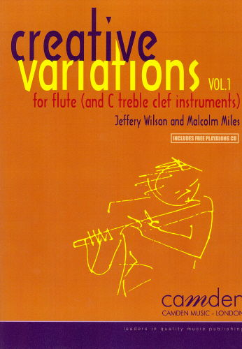 Creative Variations Volume 1 for Flute Book & CD published by Camden