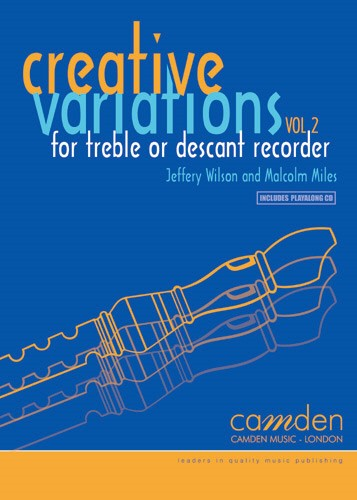 Creative Variations Volume 2 for Recorder Book & CD published by Camden