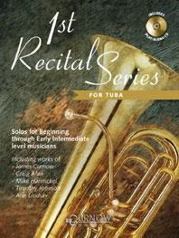 1st Recital Series for Tuba in C Book & CD published by Curnow