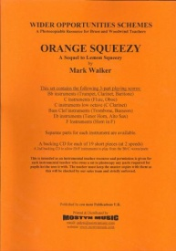 Orange Squeezy wider opps set published by Con Moto