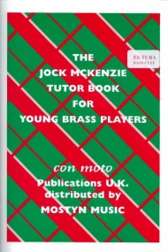 Jock McKenzie Tutor Book 1 for Bass Clef Eb Tuba published by Mostyn
