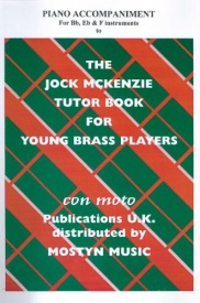 Jock McKenzie Book 1 Piano accompaniments for Bb, Eb & F published by Mostyn
