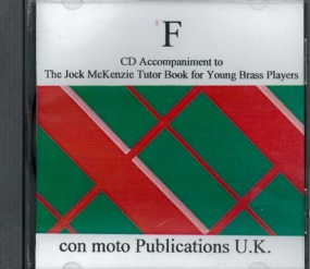 Jock McKenzie Tutor Book 1 F (CD Accompaniment) published by Mostyn