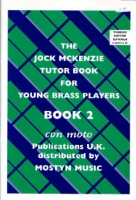 Jock McKenzie Tutor Book 2 for Bass Clef Brass published by Mostyn