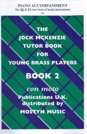 Jock McKenzie Book 2 Piano accompaniments for Bb & Eb published by Mostyn Music