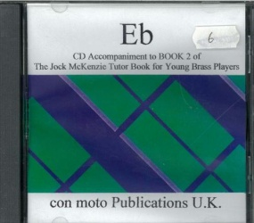 Jock McKenzie Tutor Book 2 Eb (CD Accompaniment) published by Mostyn