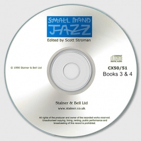 Small Band Jazz published by Stainer & Bell - CD – Books 3 & 4