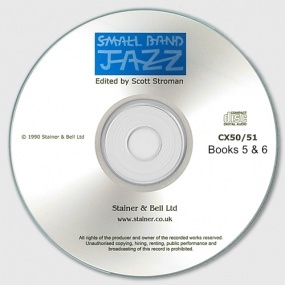 Small Band Jazz published by Stainer & Bell - CD – Books 5 & 6