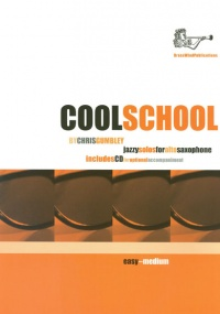 Gumbley: Cool School for Alto Saxophone Book & CD published by Brasswind