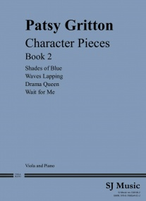 Gritton: Character Pieces Book 2 for Viola published by SJ Music