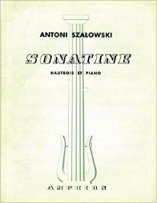 Szalowski: Sonatine for Oboe published by Amphion