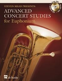 Advanced Concert Studies for Euphonium (Treble Clef) published by De Haske