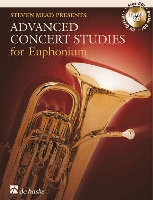 Advanced Concert Studies for Euphonium (Bass Clef) published by De Haske