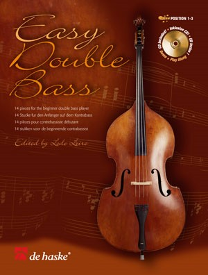 Easy Double Bass Book & CD published by De Haske
