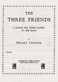 Collins: The Three Friends (3 Players at 1 Piano) published Novello