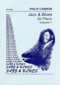 Cannon: Jazz and Blues for Piano Volume 1 published by Duettino