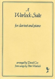 A Warlock Suite for Clarinet & Piano published by Thames