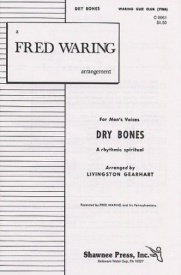 Dry Bones TTBB published by Shawnee Press
