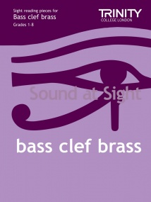 Sound At Sight Bass Clef Brass Grades 1 - 8 published by Trinity